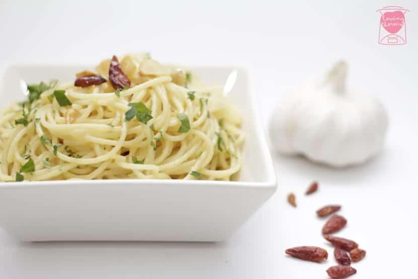 Spaguetti aglio, olio e peperoncino